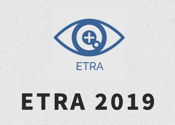 5 papers at ETRA 2019