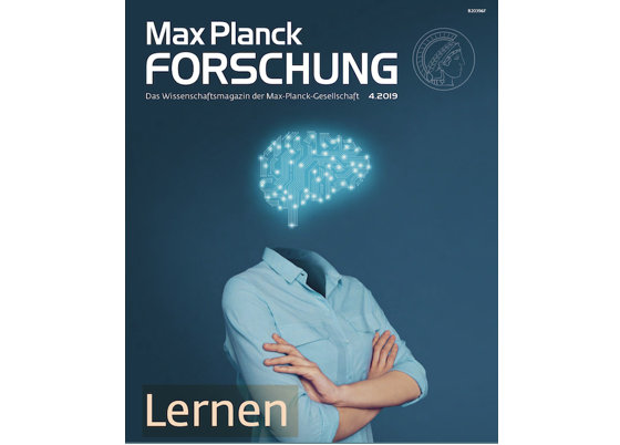Work featured in 'Max Planck Forschung'